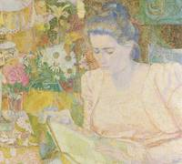 Portrait of Marie Jeanette de Lange, Jan Toorop, 1
