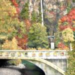 Oil Painting, Multnomah Falls