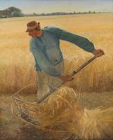 Laurits Andersen Ring, The harvest worker is Ring'