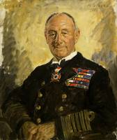 Portrait of Earl Jellicoe, by Reginald Eves.