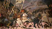 The Battle of San Romano Paolo Uccello probably ab