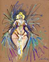 Dirty Martini, Burlesque Legend by Luma Rouge