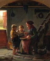 Adolf Eberle, feeding time
