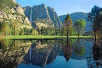 Reflections of Yosemite Falls