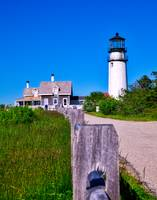 Highland Lighthouse on Cape Cod