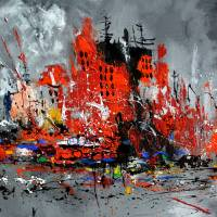 busy city Art Prints & Posters by pol ledent