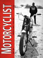 Motorcycle Magazine Desert Racing 1966