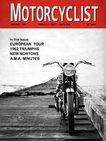 Motorcycle Magazine European Tour 1962