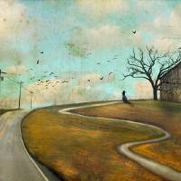 Until the Last Crow Calls Art Prints & Posters by Cheryl Tarrant