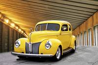 1940 Ford Deluxe Sedan 'Mellow in Yellow' II