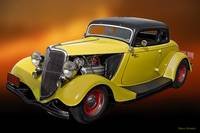 1934 Ford 'Hemiford' Coupe II