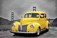 1940 Ford Deluxe Sedan 'Mellow in Yellow' I