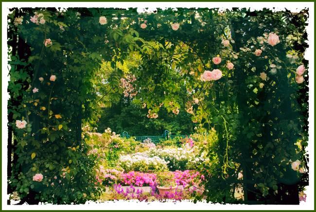 Fine Art Garden Arbor Artwork For Sale On Fine Art Prints