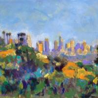 Griffith Park Los Angeles Commonwealth Trail Art Prints & Posters by RD Riccoboni