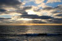 Blue Sky Sunset by Carol Groenen