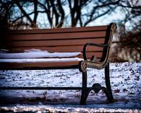 Cold Seat in Riverside Park