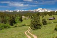 Hills Of Boulder County Colorado