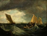 Augustus Wall Callcott - Sheerness and the Isle of