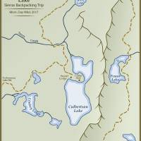 Culbertson Lake Map Art Prints & Posters by amproehl