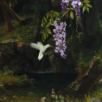 The White Hummingbird Art Prints & Posters by I.M. Spadecaller