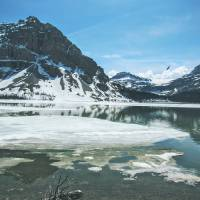 Bow Lake III Art Prints & Posters by Tiberius Viris