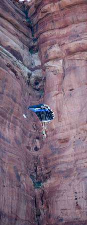 Parachute in the canyon-2