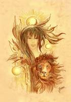 The Leo - Protective Angel for Zodiac Sign