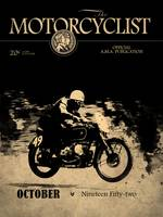 Motorcycle Magazine BMW Racing Team 1952