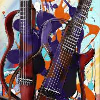 Melting Notes Art Prints & Posters by Melanie D