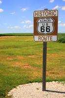 Route 66 - Illinois Shield