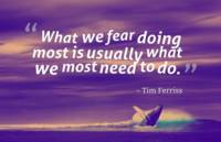 Inspirational Timeless Quotes - Tim Ferriss 2