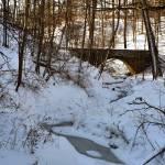 """bridge over a frozen creek"" by fjsjr"