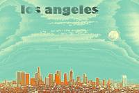 los angeles travel poster 4