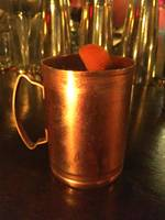 Gin Mule, Orange Garnish