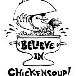 """Chickensoup (B&W)"" by WinnieFitch"