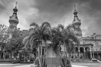 University of Tampa in Black and White