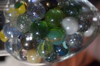 Marbles Suspended