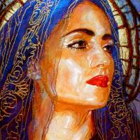 Dolorosa Azul Art Prints & Posters by George Yepes