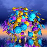 fancy trees - scifi world -3-