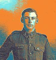 Portrait of a Young  WWI Soldier Series 6