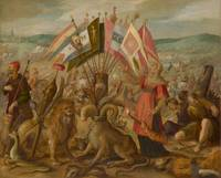 Allegory of the Battle at Brasov Hans von Aachen -