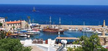 Harbor at Kyrenia, Cyprus