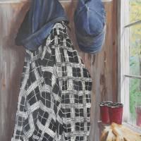 John's Coat Art Prints & Posters by Ruth Driedger