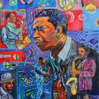 Coltrane One Art Prints & Posters by David Noah Giles