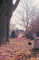 THE OLD BURYING GROUND ESSEX MASSACHUSETTS