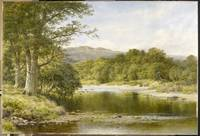 Benjamin Williams Leader (1831-1923) The River Llu