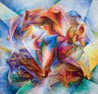 Dynamism of a Soccer Player Umberto Boccioni, 1913