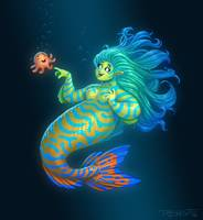 Mandarin Mermaid