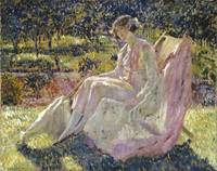 Frederick Carl Frieseke (1874-1939) sunbath