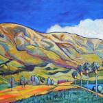 Blossom valley 2015 24 x 48 by RD Riccoboni